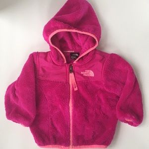 THE NORTH FACE JACKET BABY GIRLS SZ 6-12 mos  EUC